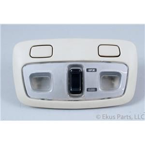 1998-2004 Subaru Legacy Interior Overhead Console w/ Map Lights & Sunroof Switch