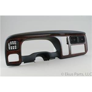 98-00 Dodge Dakota Durango Speedometer Radio Climate Control Dash Bezel Vents