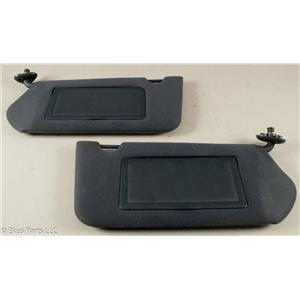2000-2005  Chevrolet Impala Sun Visor Set w/ Covered Mirrors & Extend Panels