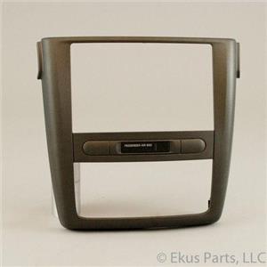 2005-10 Chevrolet Cobalt 06-09 Pontiac G5  Radio Climate Control Dash Trim Bezel