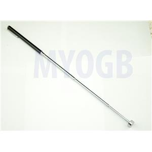"23"" Black Telescopic Magnet Tool Pocket Clip - Gold-Black Sands-Metorite 2-Lb"