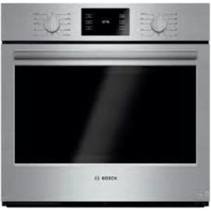 "Bosch 500 30"" 4.6 cu ft European Convection 11 Mode Electric Wall Oven HBL5451UC"