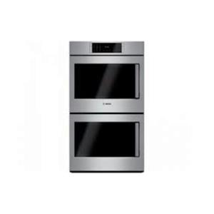 """Bosch Benchmark Series 30"""" Self-Clean Double Electric Wall Oven HBLP651LUC"""