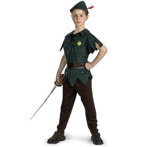 Peter Pan Classic Child Costume Size Small