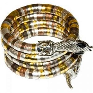 Egyptian Cobra Coil Costume Bracelet