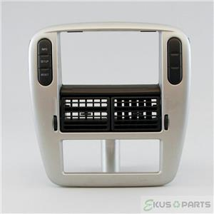 2005 Mercury Mountaineer Radio Climate Trim Bezel for Automatic Climate Controls