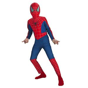 Kids Spiderman 2 Child Boys Costume Size Large 7-10