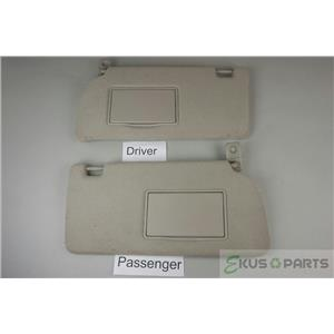 05-12 Frontier Xterra Pathfinder Sun Visor Set Paur Covered Mirror Extend Panel