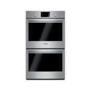 "Bosch 500 30"" EcoClean Double Electric Thermal cooking SS Wall Oven HBL5551UC (5)"