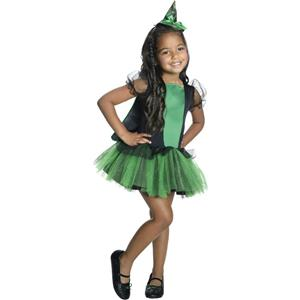 Wizard of Oz Girls Tutu Wicked Witch of the West Child Costume Size Medium 8-10
