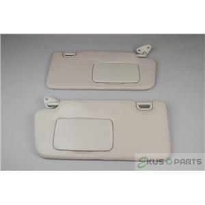 2012-2014 Subaru Impreza XV Crosstrek Sun Visor Set with Covered Mirrors