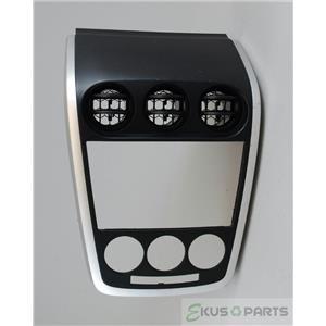 2007 2008 2009  Mazda CX7 Radio Climate Dash Center Bezel Vents Silver Trim