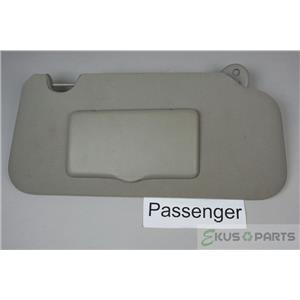 2005-2009 Chevrolet Equinox Torrent Passenger Side Sun Visor with Covered Mirror