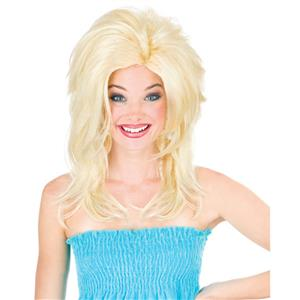 Blonde Midwest Momma Big Texas Hair Wig