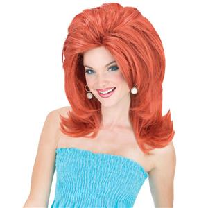 Auburn Red Midwest Momma Big Texas Hair Wig