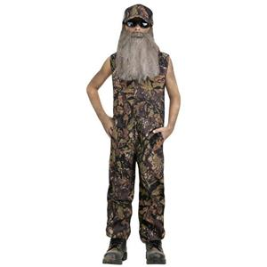 Duck Hunter Child Costume Coveralls Large 12-14
