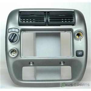 95-11 Ford Ranger Super Cab Radio Climate Combo Trim Bezel with 4WD & Fog Switch