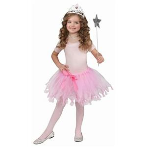 Girls Child Pink Princess Ballerina Tutu Tulle