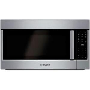 "Bosch 800 Series HMV8052U 30"" Over-the-Range Microwave Oven Images Description"