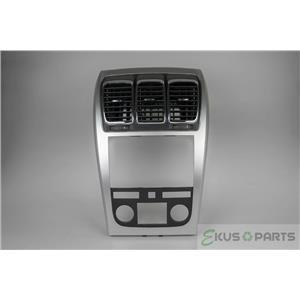 2007-2012 GMC Acadia Radio Automatic Climate Dash Trim Bezel with Vents