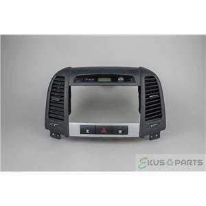 2007-2011 Hyundai Santa Fe Radio Dash Trim Bezel with Defrost Switch and Vents