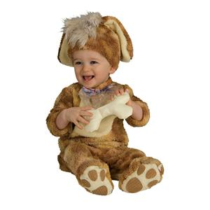 Precious Puppy Toddler Costume 12-18 months Bone Rattle Included