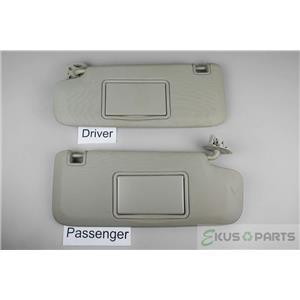 2011-2016 Chevrolet Cruze Sun Visor Set Pair Mirrors Driver Side Adjust Bar