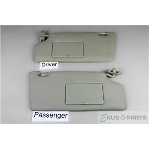 2000-2007 Ford Focus Sun Visor Set with Covered Mirrors