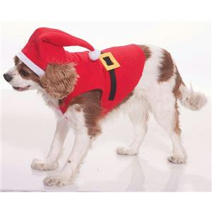 Forum Santa Claus Suit Pet Cat or Dog Costume Size Small
