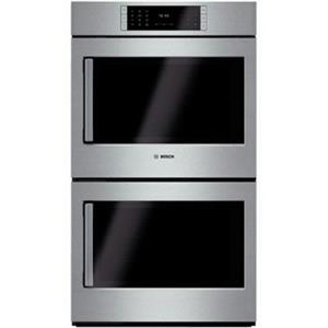 "Bosch Benchmark Series 30"" Convection Double Electric Wall Oven HBLP651RUC Image"