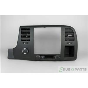 2007-13 Silverado Sierra 1500 Radio Climate Dash Trim Bezel with Vent 4wd Switch