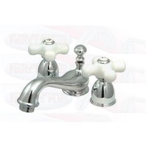 Kingston Bathroom Sink Faucet Polished Chrome KS3951PX