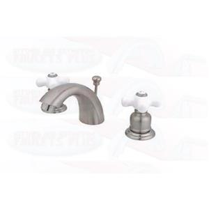 Kingston Bathroom Sink Faucet Satin Nickel KB958PX