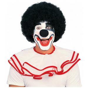 Black Afro Clown Wig