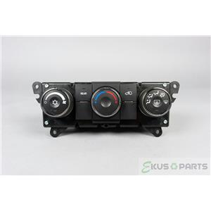 2009-2012 Chevrolet Traverse Climate Control Unit with Rear Defrost AC Switch