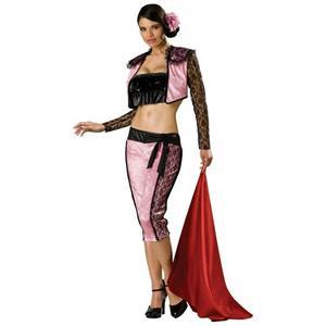 Pink Matador Adult Sexy Womens Tempting Toreador Costume Size Large