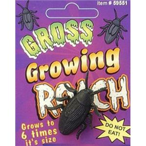 Gross Growing Roach Grow A Roach Cockroach Fake Bug Gag