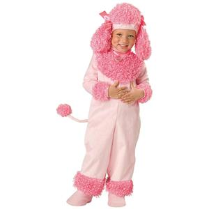 Precious Pink Poodle Toddler Child Girls Costume Size 3T