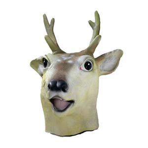 Deluxe Latex Deer Adult Mask