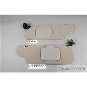 2000 Ford Windstar Sun Visor Set with Covered Mirrors