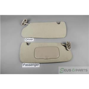 1998-2002 Dodge Dakota Sun Visor Set with Passenger Covered Mirror