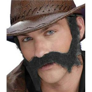 Gray Civil War Wild West General Burnside Beard