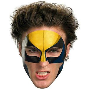 Wolverine Face Temporary Tattoo Makeup Easier Than Mask