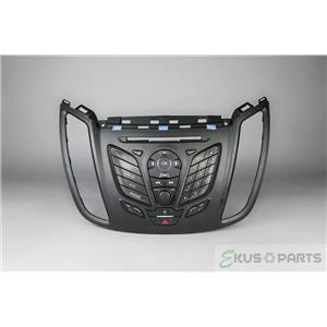 2013-15 Ford Escape Radio Dash Trim Bezel with Info Controls Hazard Light Switch