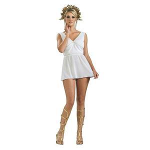 Women's Adult Grecian Goddess Costume Dress Size XS 2-6