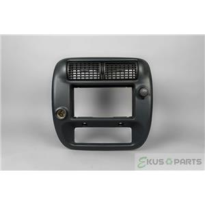 2000 Ford Ranger Radio Climate Dash Trim Bezel with Vents, 12 Volts Outlets