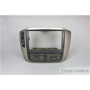 2006-2008 Honda Pilot Radio Climate Dash Trim Bezel with Hazard VTM-4 Switches