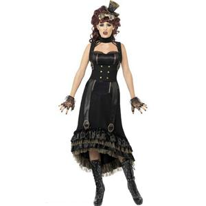 Steampunk Vamp Victorian Gothic Adult Costume Size Small