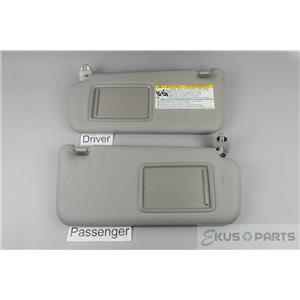 2006-2012 Toyota Rav4 Sun Visor Set with Covered Mirrors and Extension Panels