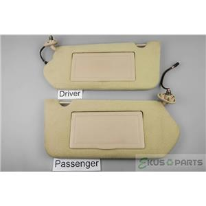 2000-2005 Chevrolet Impala Sun Visor Set with Lighted Mirrors and Extend Panels